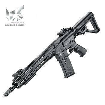ICS M4 CXP UK1 R KeyMod AEG/EBB - Black
