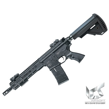 ICS M4 CXP UK1 S1 KeyMod AEG/EBB - Black