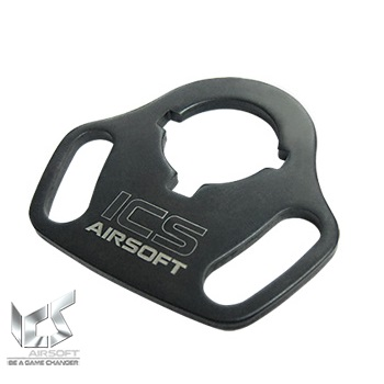 ICS Ambi Steel Sling Swivel Endplate für AEG M4