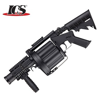 "ICS x Milkor MGL ""Multiple Grenade Launcher"" - Black"