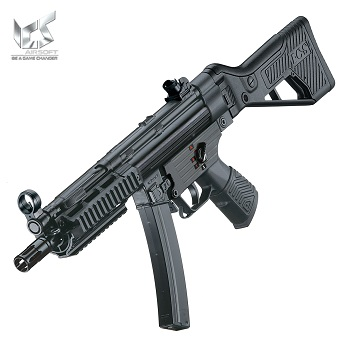 "ICS SMG5 MS1 R.A.S. ""SSS.II"" AEG - Black"