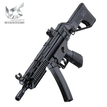 ICS MP5 MS1 R.A.S. H2E AEG - Black