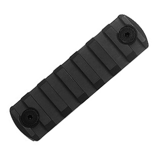 "IMI ® MLK ""M-LOK"" Rail Section (7 Slots) - Black"