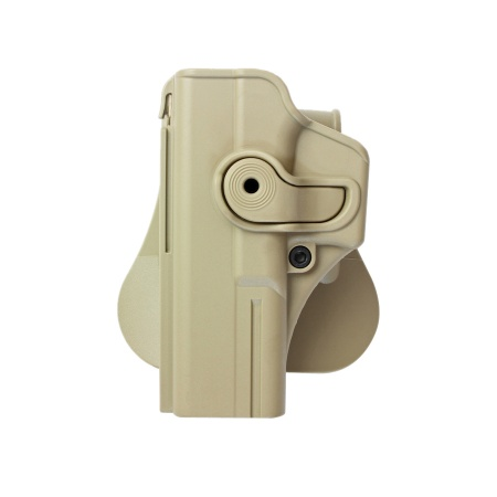 IMI ® Gürtelholster Glock 17/22/28/31, links - TAN