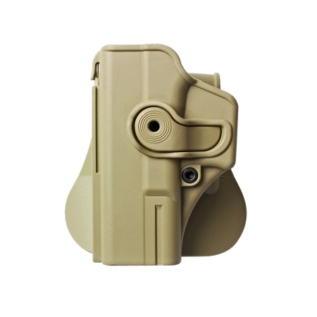 IMI ® Gürtelholster Glock 19/23/25/28/32, links - TAN