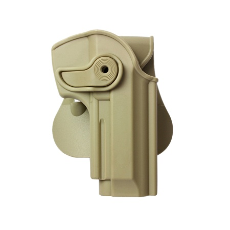 IMI ® Gürtelholster Beretta 92/96, rechts - TAN
