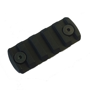 "IMI ® KMD ""KeyMod"" Rail Section (5 Slots) - Black"