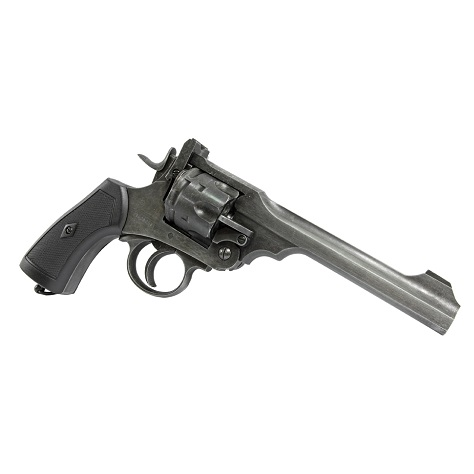 "Win Gun x Webley Mark VI Co² Revolver 6"" - ""Aged"""