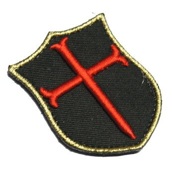 F.F.I. SEAL Team 6 NSWDG Mini Crusader Patch