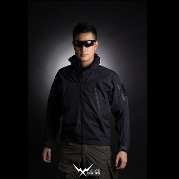 F.F.I. XENODERMUS Hardshell Jacke ( XEN Jacket ), Black - Gr. L