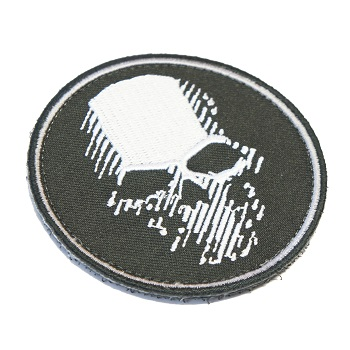 Ghost Recon Skull Patch - Black