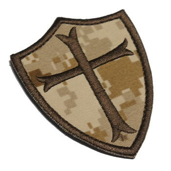 Navy SEALs Crusader Patch - NWUII / AOR1