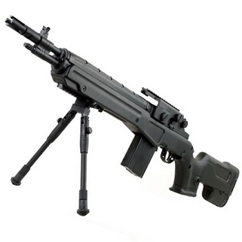 C.M. M14 DMR AEG Set - Black