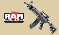 RAM Paintball Waffen