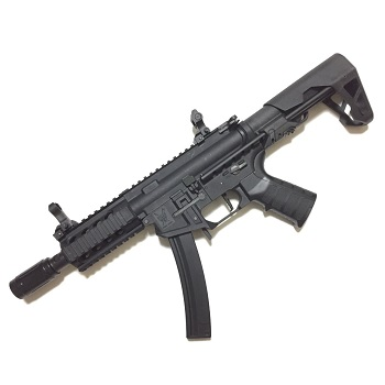 "King Arms PDW 9mm SBR ""Shorty"" AEG - Black"
