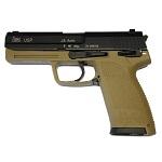 KWA x H&K USP .45 GBB - Desert