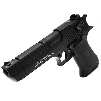 KWC x IMI Desert Eagle .50AE Co² BlowBack (Semi & Auto) - Black