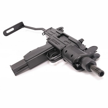 KWC x SWISS Arms Mini UZI Co² BlowBack (V.2) Set (inkl. 6 Ersatzmagazine) advent
