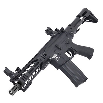 "Lancer Tactical M4 Enforcer ""M-LOK"" PDW QSC ProLine AEG - Black"