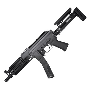 LCT Airsoft AK PP-19 Tactical AEG - Black