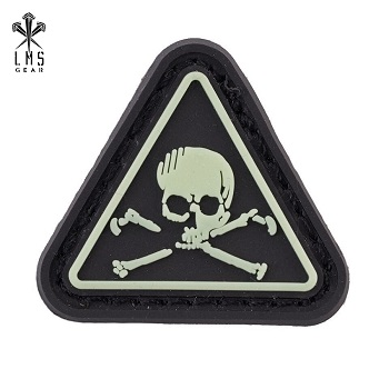 "LMSGear ® Ranger Eye ""322"" PVC Patch - Glow in the Dark"