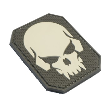 "La Patcheria ® ""Skull"" PVC Patch - SWAT"