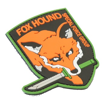 "La Patcheria ® ""FOXHOUND"" PVC Patch - Color"