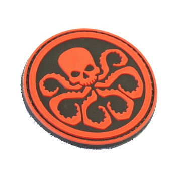 "La Patcheria ® ""Hydra Logo"" PVC Patch - Color"