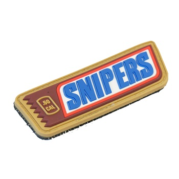 "La Patcheria ® ""SNIPERS"" PVC Patch - Color"