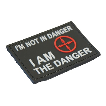 "La Patcheria ® ""I'm not in Danger"" PVC Patch - SWAT"