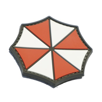 "La Patcheria ® ""Umbrella Logo"" PVC Patch - Color"