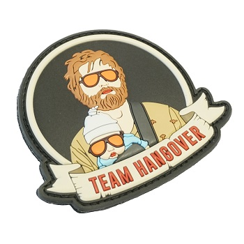 "La Patcheria ® ""Team Hangover"" PVC Patch - Color"