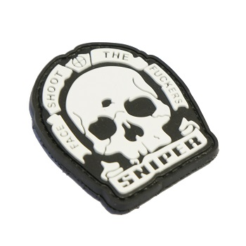 "La Patcheria ® ""Sniper - Face Shoot the Fuckers"" PVC Patch - SWAT"