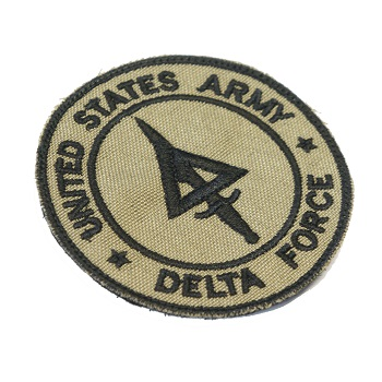 "La Patcheria ® ""U.S. Delta Force"" Patch - Desert"