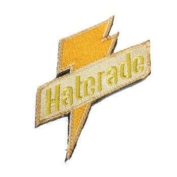 "La Patcheria ® ""Haterade"" Patch - Orange"