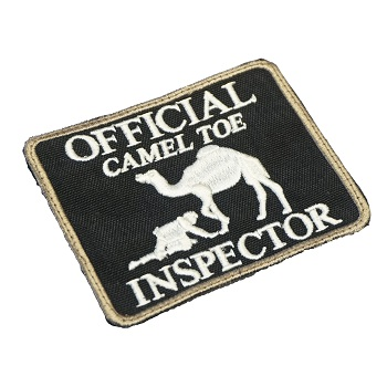 "La Patcheria ® ""Camel Toe Inspector\"" Patch - SWAT"