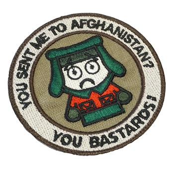 "La Patcheria ® ""South Park - Afghanistan\"" Patch - Color"