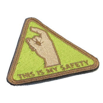 "La Patcheria ® ""This is my safety"" Patch - ARID"