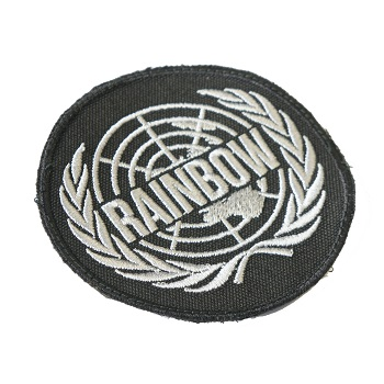 "La Patcheria ® ""Rainbow 6 Logo"" Patch - Black"