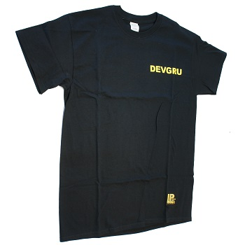 "La Patcheria ® T-Shirt ""DEVGRU"", Black - Gr. L"