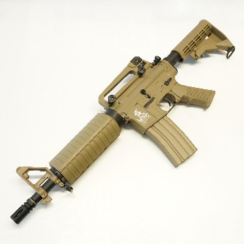 Lancer Tactical M4 Commando QSC AEG Set - Desert