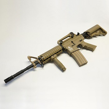 Lancer Tactical M4 R.I.S. AEG Set - Desert