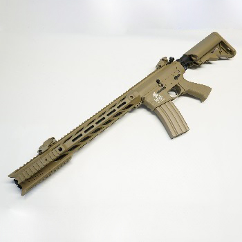 "Lancer Tactical M4 GRY ""M-LOK"" QSC AEG Set - Desert"
