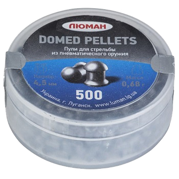 Luman Domed Pellets Diabolos 4.5mm - 300rnd