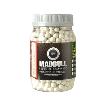 MadBull 8mm 0.48g High Impact BBs - 850rnd