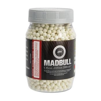 MadBull 0.20g Bio BBs, Tracer - 2'000rnd