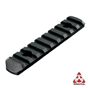 Magpul ® MOE Polymer Rail Section (9 Slots) - Black
