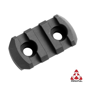Magpul ® M-LOK Aluminium Rail Section (3 Slots) - Black