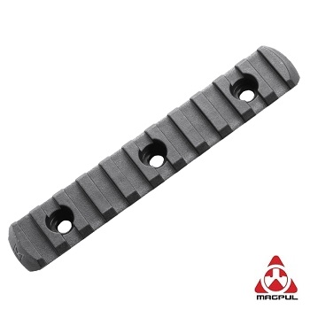 Magpul ® M-LOK Polymer Rail Section (11 Slots) - Black