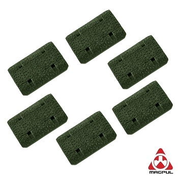 "Magpul ® M-LOK Rail Cover ""Type 2\"" (6er Pack) - Olive"